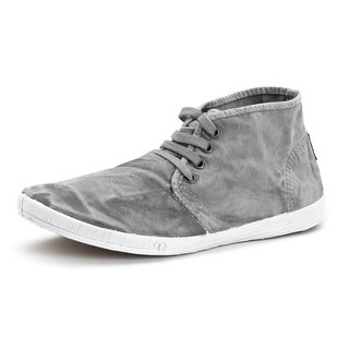 Spanish Handmade canvas shoes / 306E Canvas canvas shoes / Men's clothing / Washed grey
