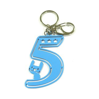 LAZYMARU-MA000603 Simple Mr. Love Key Rings Fence Accessories Taiwan Wenchuang