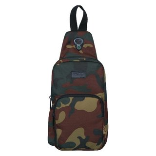 Camouflage oblique shoulder bag