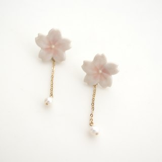 Special sakura earrings