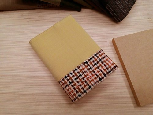 Junior A6 clothes - yellow cloth book (the only commodity) B04-004