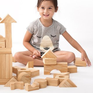 Weplay Softwood Blocks - 40pcs