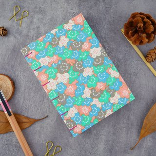 Spring Plum - A5 manual notebook / PDA / diary / photo album / log / gift