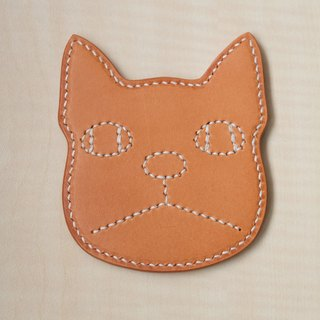 Hand-sewn leather fodder paddle Italian tannage