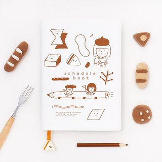 Bread - Schedule book - A