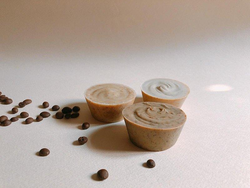 薄荷朱古力咖啡磨砂皂