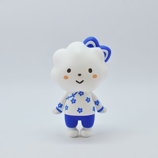 [Hong Kong FLUFFY HOUSE] NEW Rainbow Sister Series doll doll ★ blue and white porcelain (Rainbow Style-China Blue)