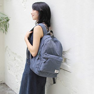 With the anti-water storage after the backpack - blue gray (pre-order 9/26) _100168