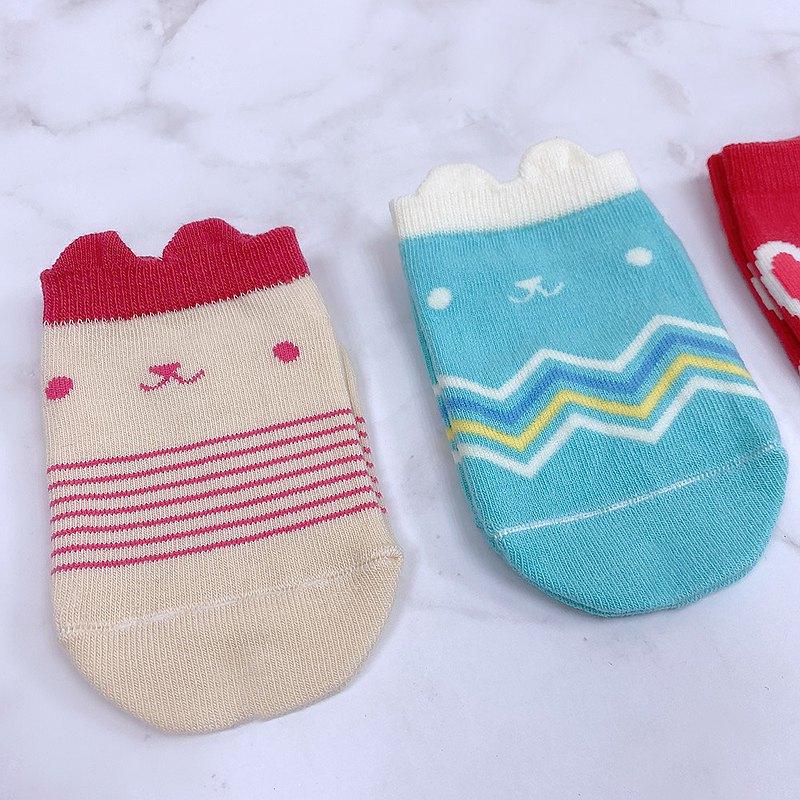 小兔耳造型兒童短襪
