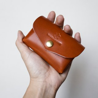 JAPAN Tochigi leather large capacity 2 pocket card case series-envelope cow leather Nume