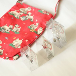 Goody Bag - Lucky Bag Set - Cute Dogs with 3 boxes of crane accessories (Random Pattern)