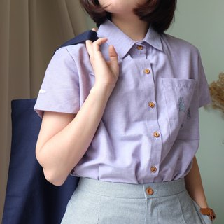Rabbit Moon Shirt : Purple