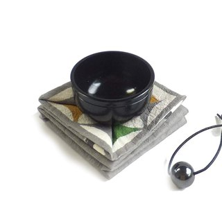 Portable copper gong (black-black gallstone)