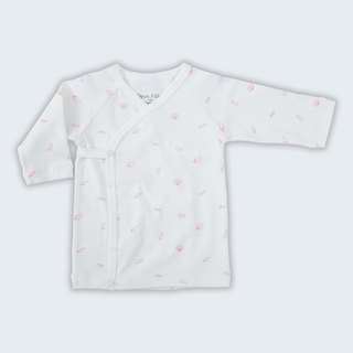 [Deux Filles Organic Cotton] Pink Shell Side Open Belly