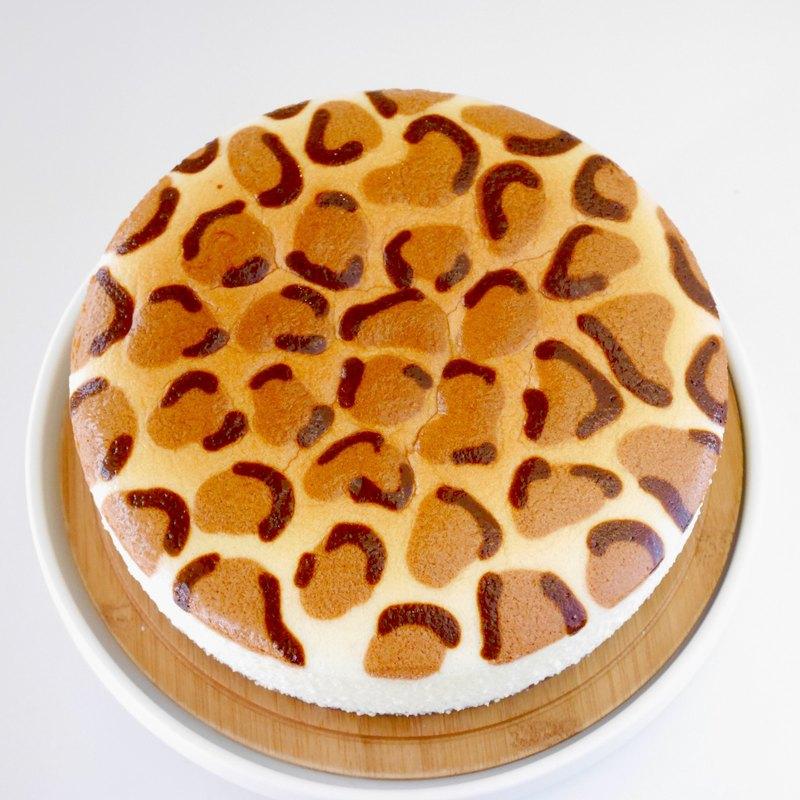 【Dobby手工甜品】XOXO豹豹輕乳酪/8吋