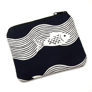 Zipper pouch / coin purse (padded) (ZS-214)