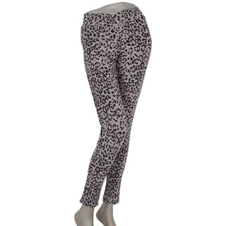 Comfort is good and reputation! Leopard pattern stretch leggings Long Pants