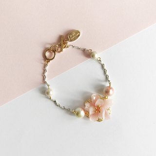 Real flower Beach Blossom Bracelet