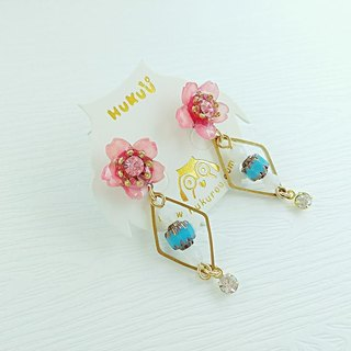 §HUKUROU § Japanese cherry earrings