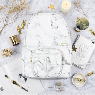 ORIBAGU origami package _ white marble gorilla Backpack