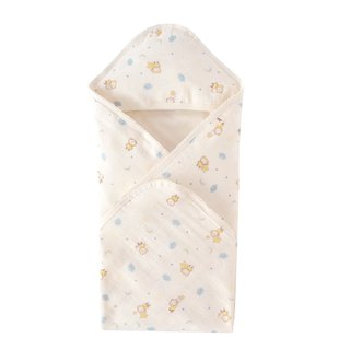 SISSO organic cotton clouds flying gauze wrap towel