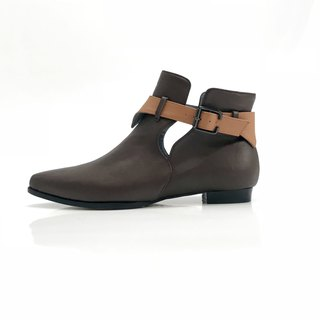 Hope (Brown boots handmade leather shoes)