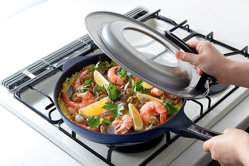 Arnest Bellfina 28cm 鑽石塗層高導熱深炒鍋