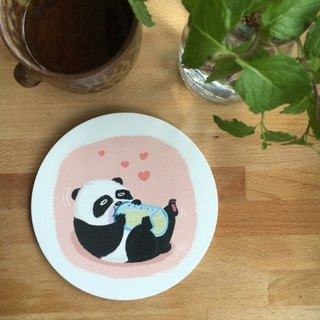 CHUMIO Illustrator Series Coaster: Baby Panda