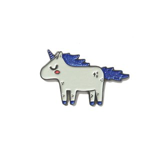 Unicorn Blue Pin