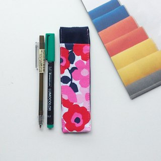 Journal Pen Holder (Nordic Little Flowers)