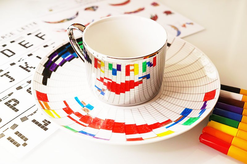 Make your own Secret Message Cup and Saucer