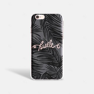 Hustle iPhone 7 Case Clear iPhone 8 Case Clear iPhone 7 Plus Case iPhone 6S Plus