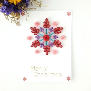 Hand made decorative cards-Christmas snowflakes