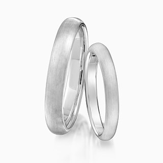 Frankness | 925 sterling silver simple couple lettering ring - hand / gift / customization / custom