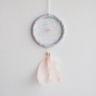Dream Catcher 8cm Water Jade Dot Pink Two-tone (Tanning Style Series) - Valentine's Day Gift