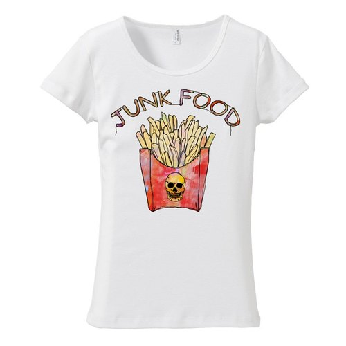 [Women's T-shirt] French fries