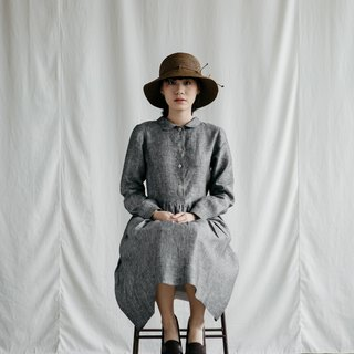 Makers Classic Dress in Grey Chambray