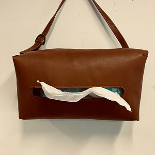 [Liang Xu leather art] leather carton / leather / home car dual-use / movable bag / suede