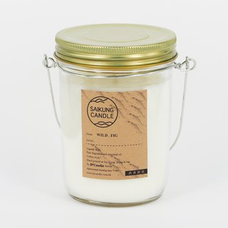 <SAIKUNG Candle> Natural Aromatherapy Candle - wild figs (WILD FIG SCENTED CANDLE)