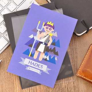 Greek Mythology Character Postcard - Hades