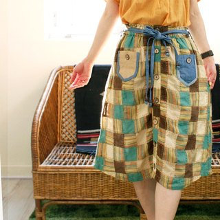 ☆ Hammock ☆ 彡 colorful patchwork skirt