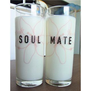 Soul Mate Glass Set of 2 by Human Touch