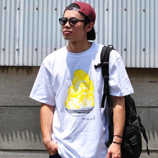 刨冰 Kakigori Shaved ice Men's t-shirt Lemon S M L XL 2XL 3XL