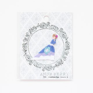 Cinderella Embroidered Patch