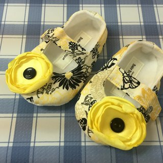 US imports handmade fashion toddler shoes (flower section)