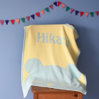 Customized Name blankets ★ Bear 60x80cm