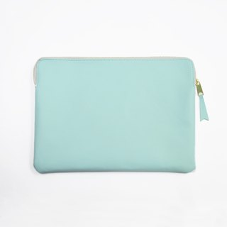 "Bellagenda 10.5"" Tablet Bag Customized Branded Pouch Bag Cover Lake Blue"