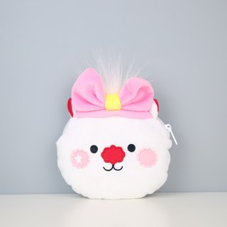 Stars pink headband cute rabbit plush team loose wrap