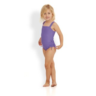 DIANA - Classic wide straps swimwear for girls
