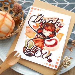 【Pin】Be Thankful│Print│Thank you card with envelope at your choice